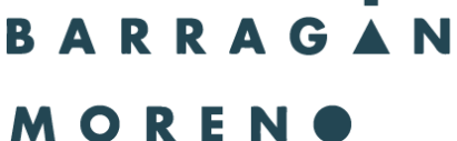 barragán Moreno cliente agencia de Estudio Contar, investigación de mercados